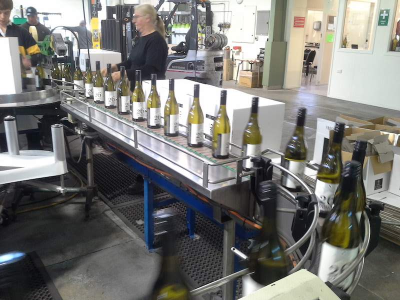 Image of the bottling 26 Rows Sauvignon Blanc Wine in Martinborough