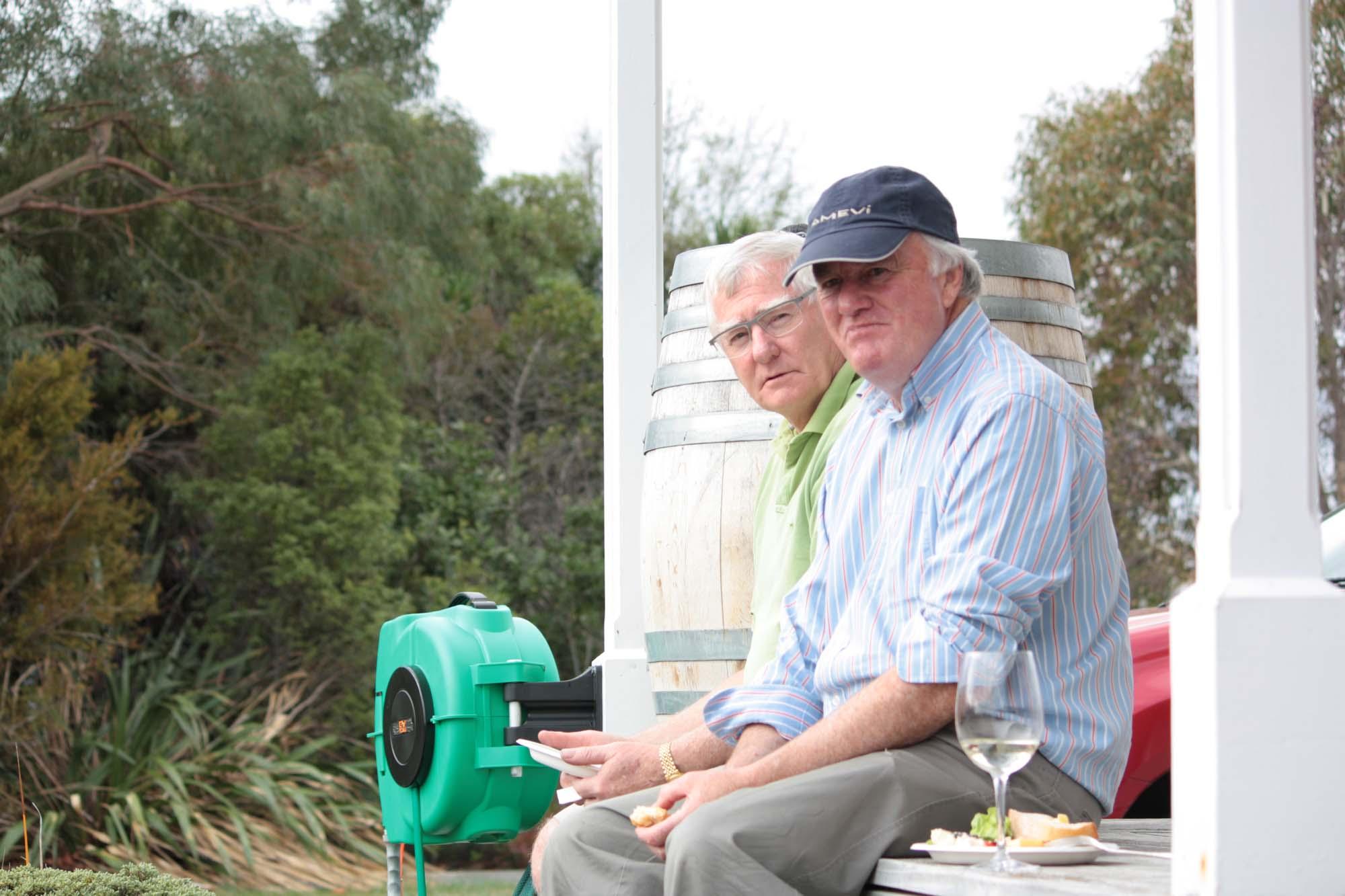 Harvest for the Sauvignon Blanc Wine at 26 Rows Vineyard, Martinborough